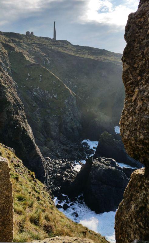 Botallack Cliffs Glimpse