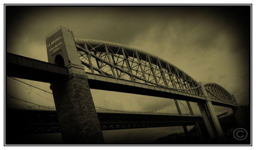 His wonderful bridge.