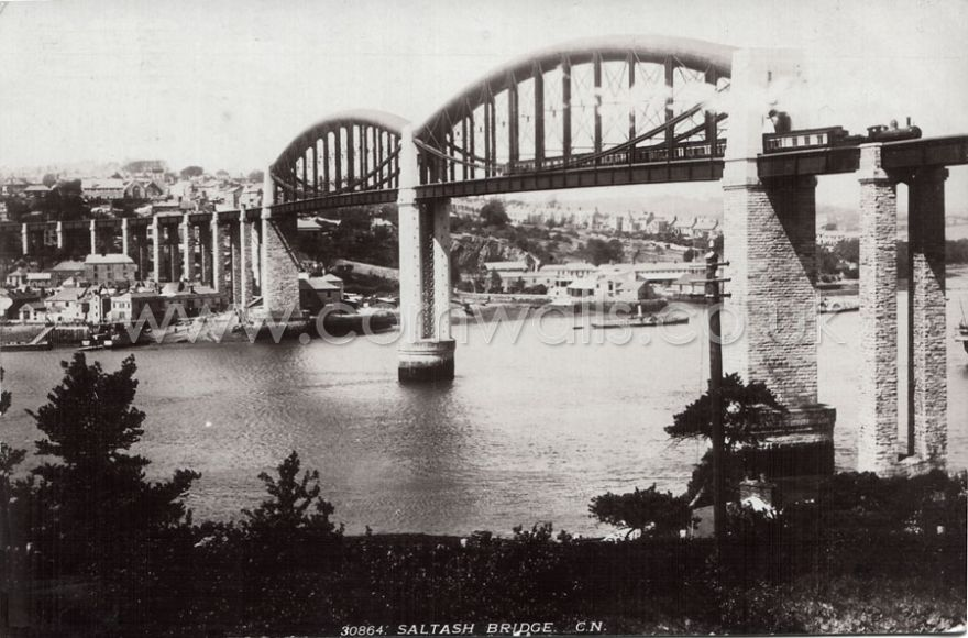 Brunel Tamar Bridge - 1900s