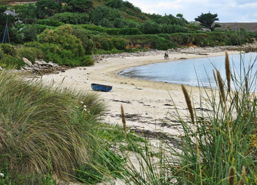 Beach on Bryher, Isles of Scilly