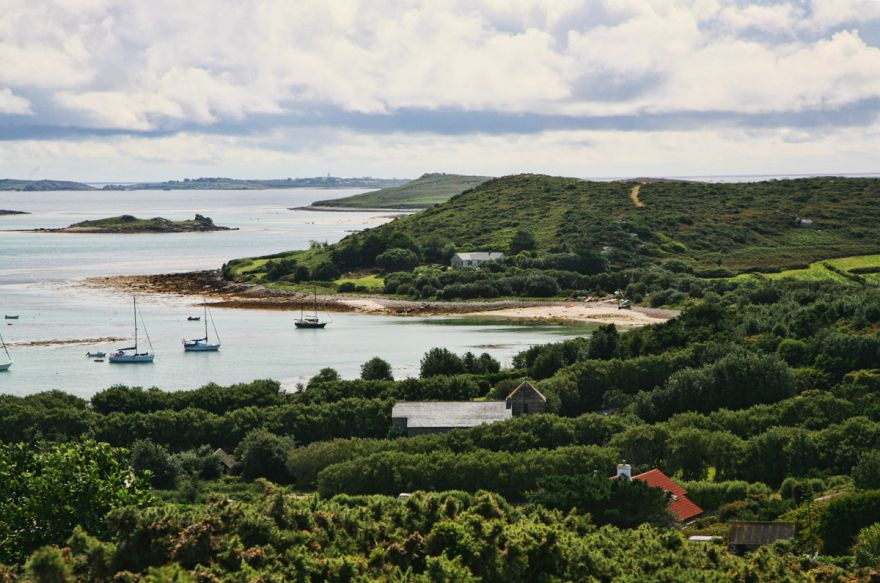 View over Green Bay - Bryher, Scilly