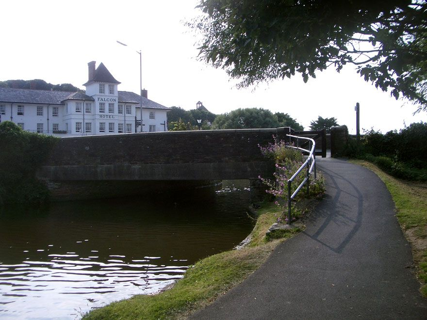 Bude Canal and Falcon Hotel