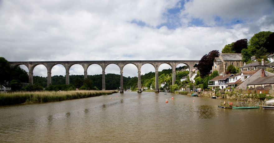 Calstock - River Tamar and Viaduct