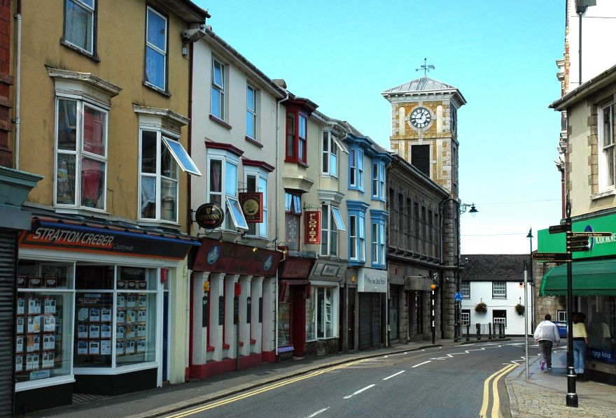 Commercial Street - Camborne