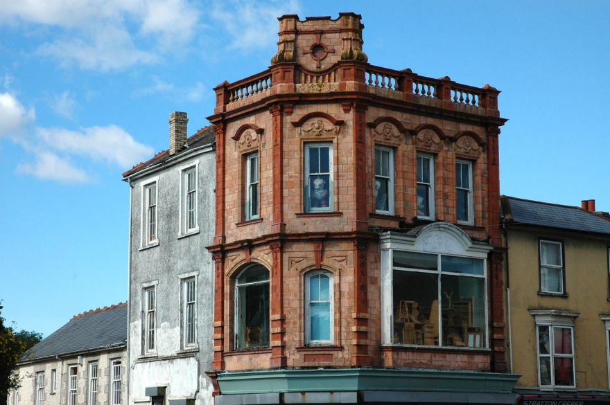 Corner of Church Lane and Commercial Street - Camborne