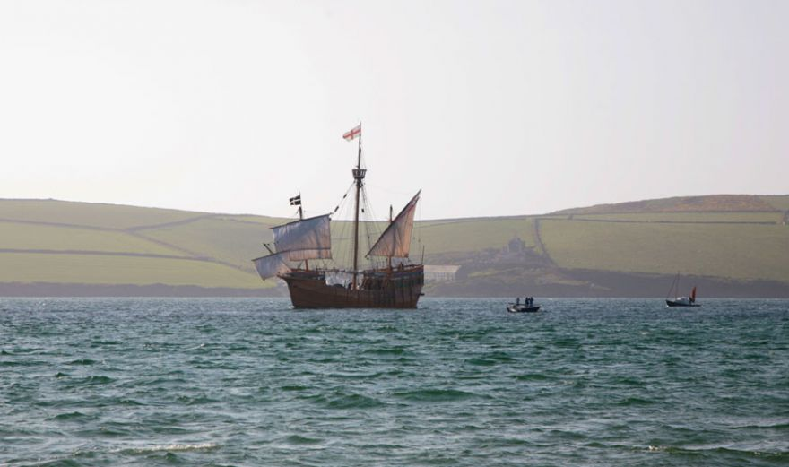 The Matthew in the Camel Estuary
