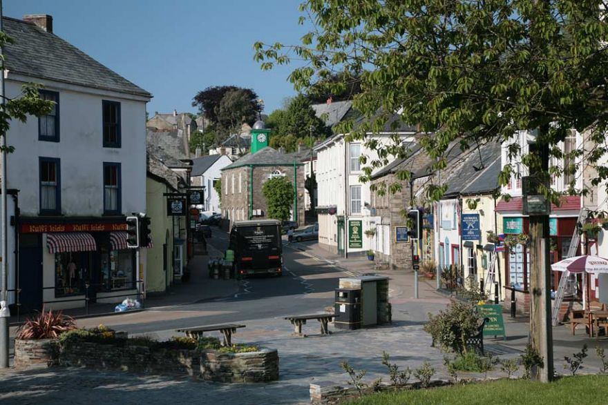 Camelford Town Centre