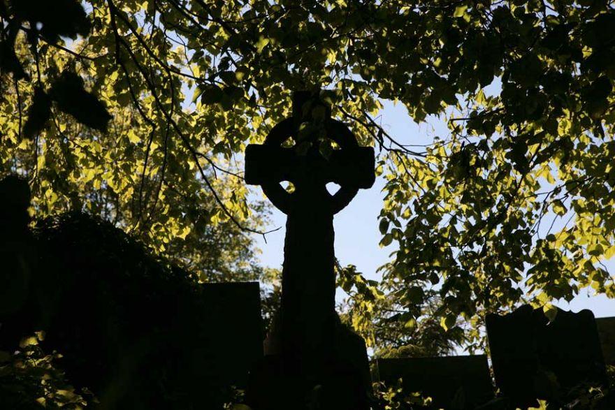 Celtic Cross Headstone