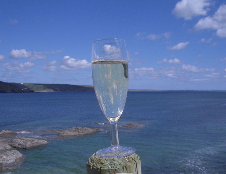 Champagne and Sea