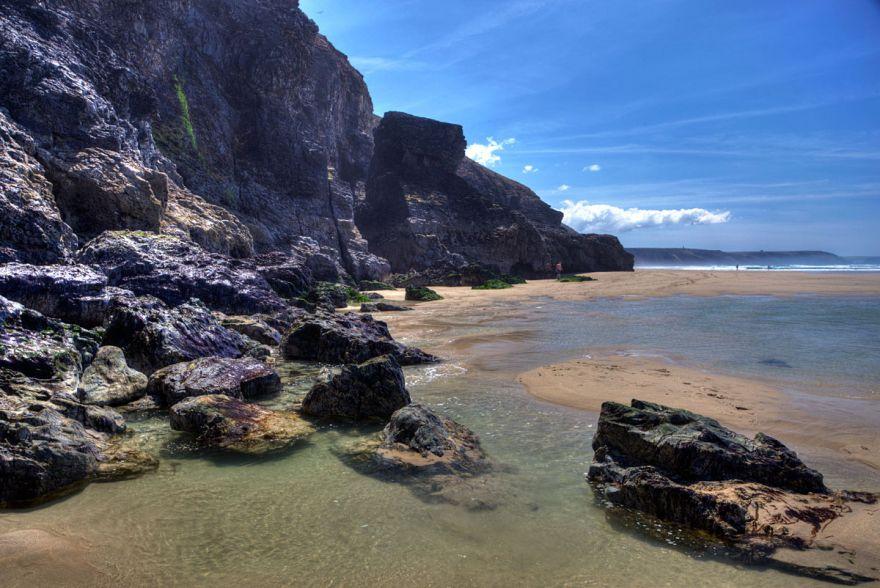Chapel Porth cliffs
