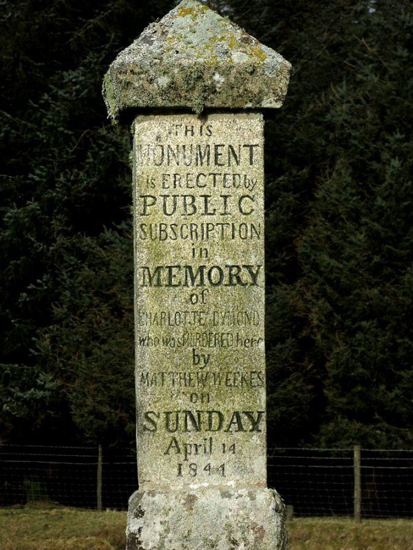 Charlotte Dymond Memorial