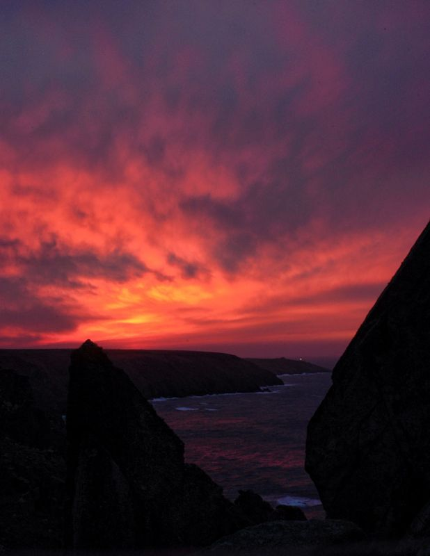 West Cornwall Sunset