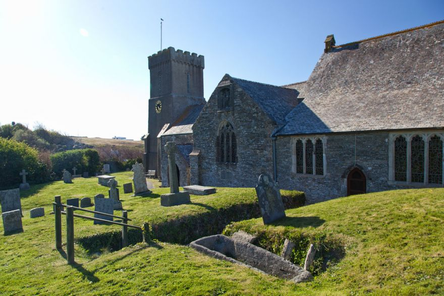 Crantock Church