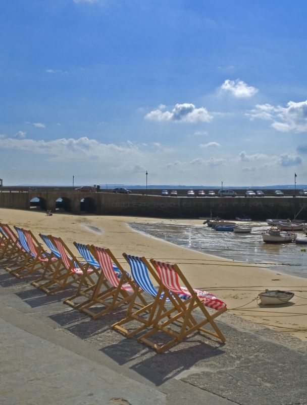 Deck Chairs in St-Ives