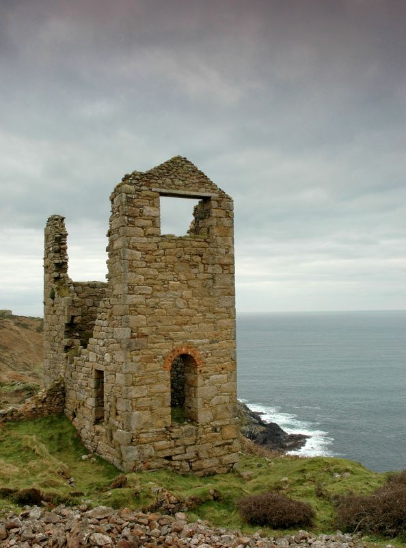 Wheal Owles Engine House Ruin