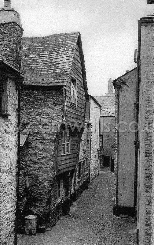 Lower Market Street East Looe 1910s Cornwall Guide