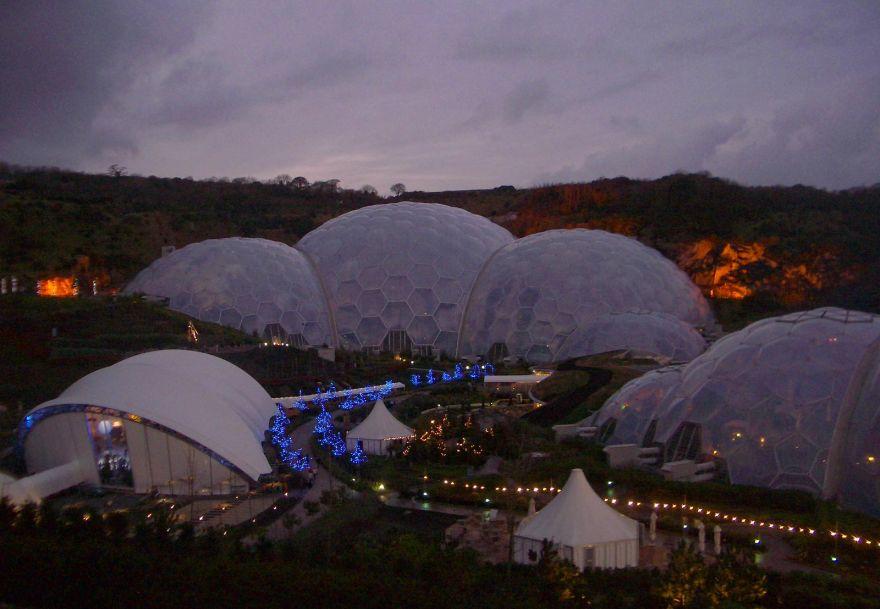 Eden Project - Christmas 2004