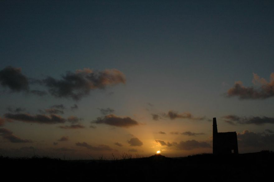 Engine House at Sundown