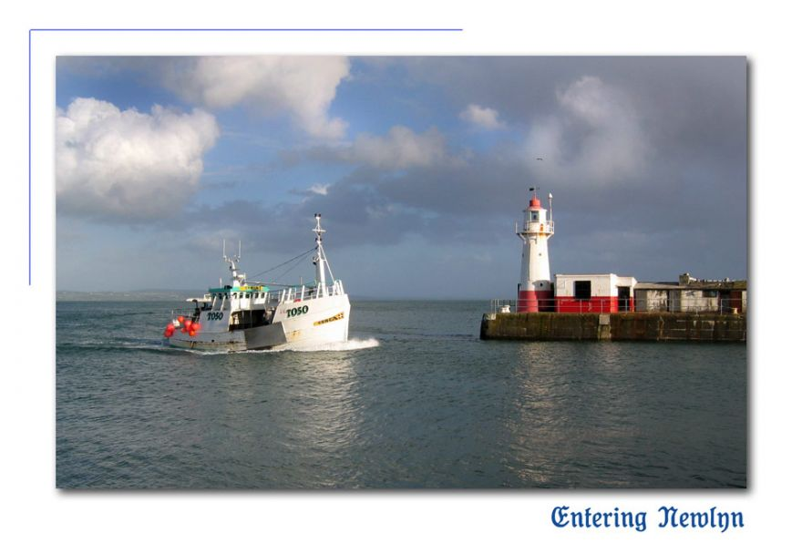 entering newlyn