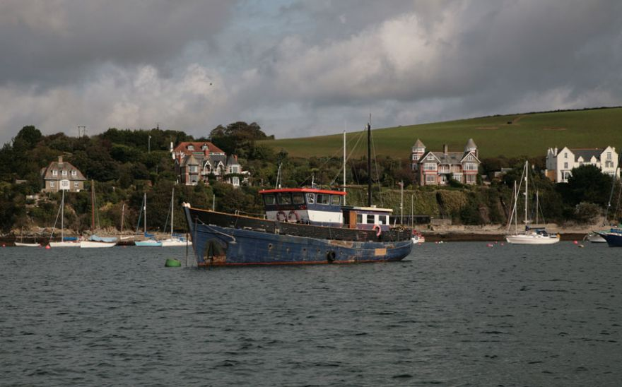 Old Boat on the River Fal