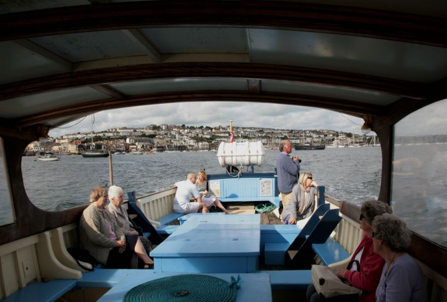 Onboard the Falmouth - St Mawes Ferry