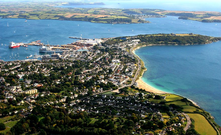 Falmouth - Aerial photo