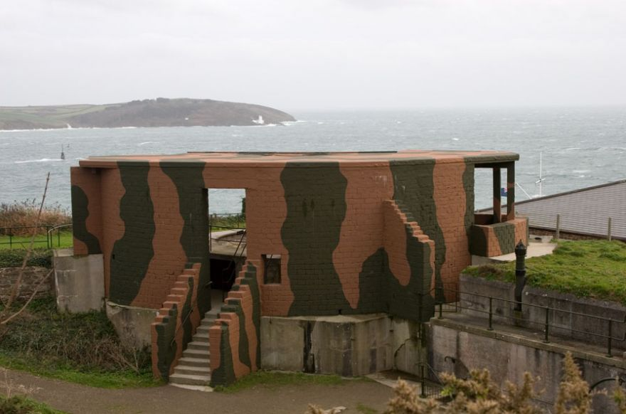 Crab Quay Battery - Pendennis Head