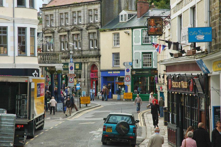 Falmouth Town Centre