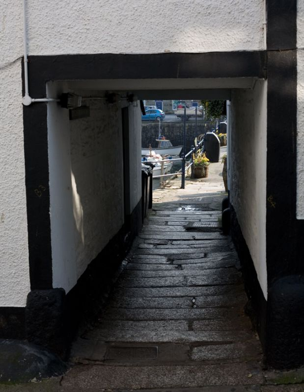Quay Street Alley - Falmouth