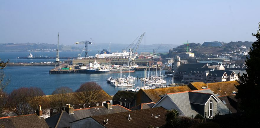 Falmouth Docks View