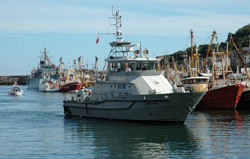 Fisheries Patrol Vessel - Saint Piran