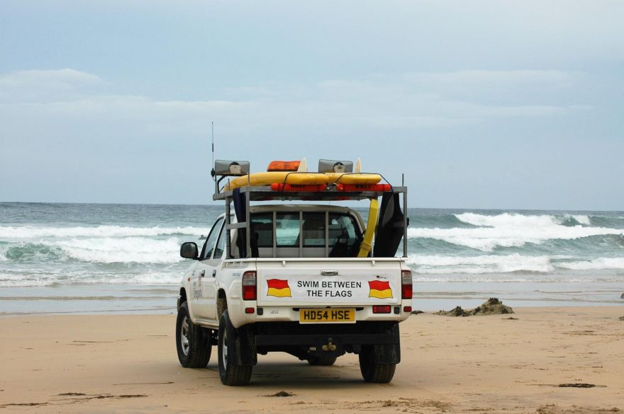 Lifeguard Ve-hicle - Fistral, Newquay