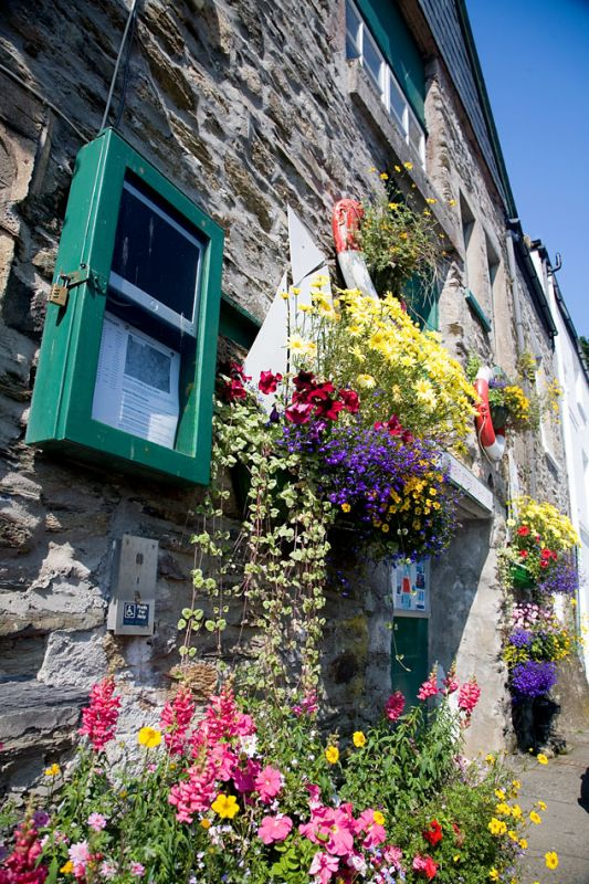 Fowey Harbour Commission flowers
