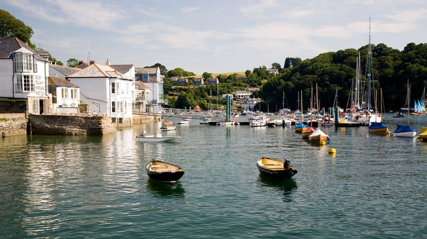 Fowey River from the Quay