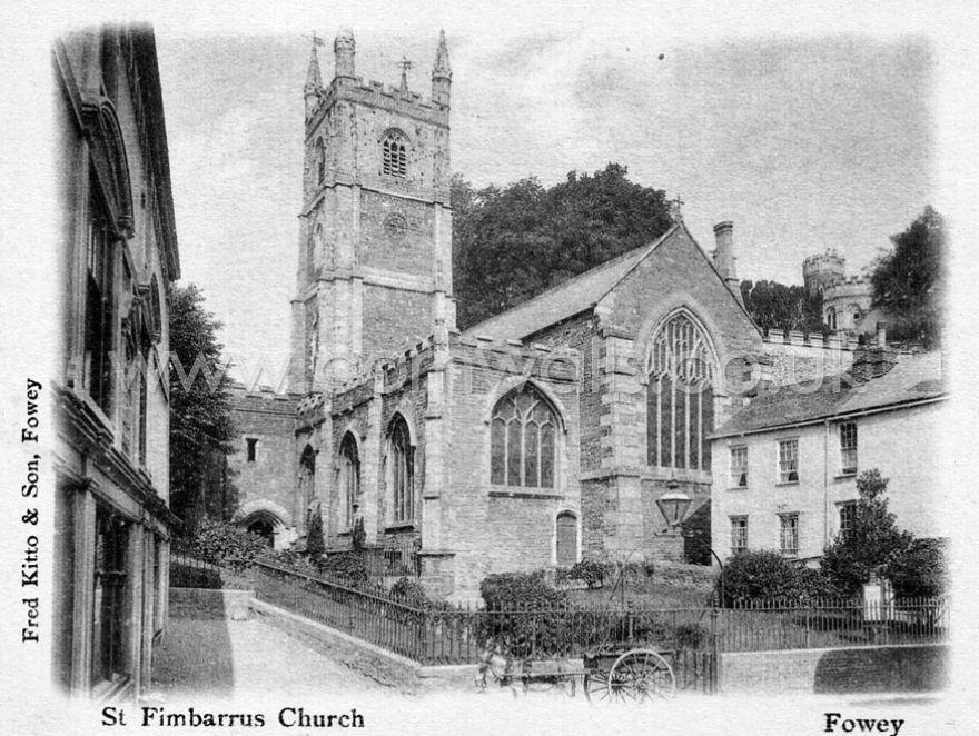 Fowey Church - 1900s
