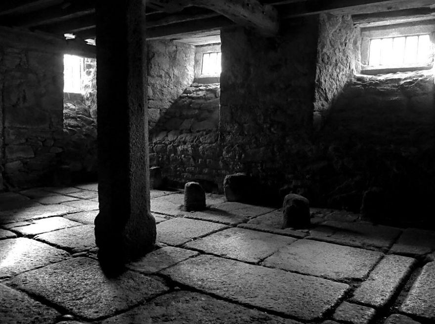 Godolphin House cellar