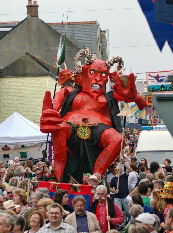 Golowan Devil - Mazey Day