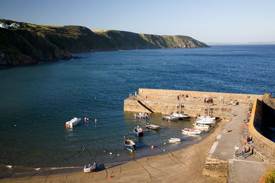 Gorran Haven Harbour