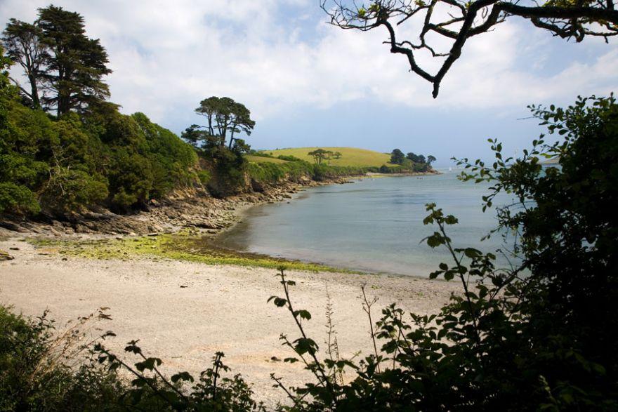 Beach on the Helford