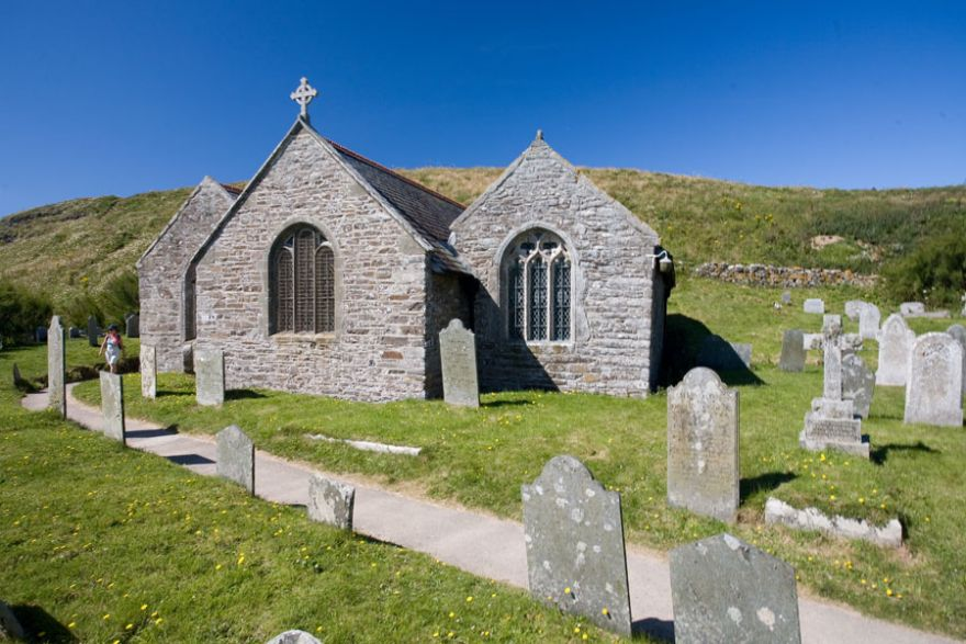 Gunwalloe Church