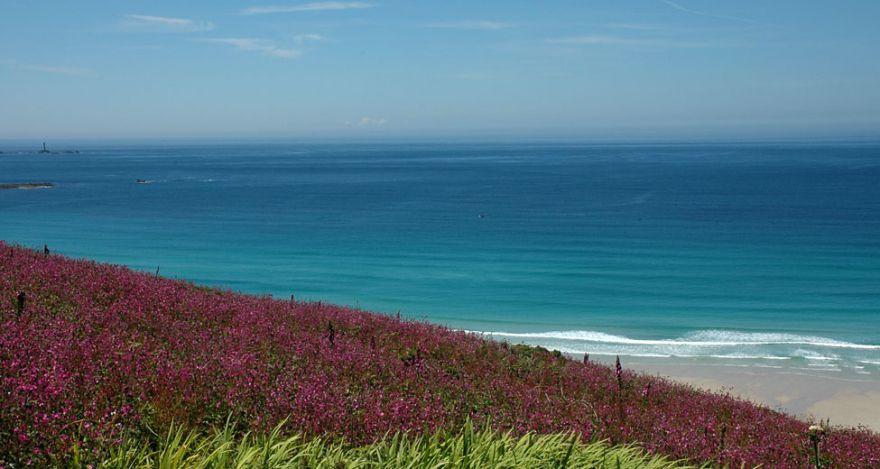 Gwenver Beach - Summer colours
