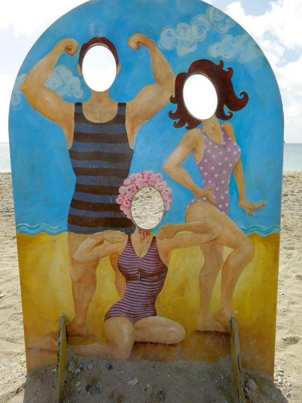 Falmouth beach amusements