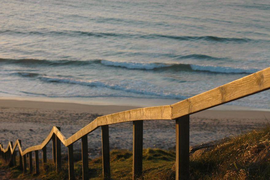 Beach Steps Handrail