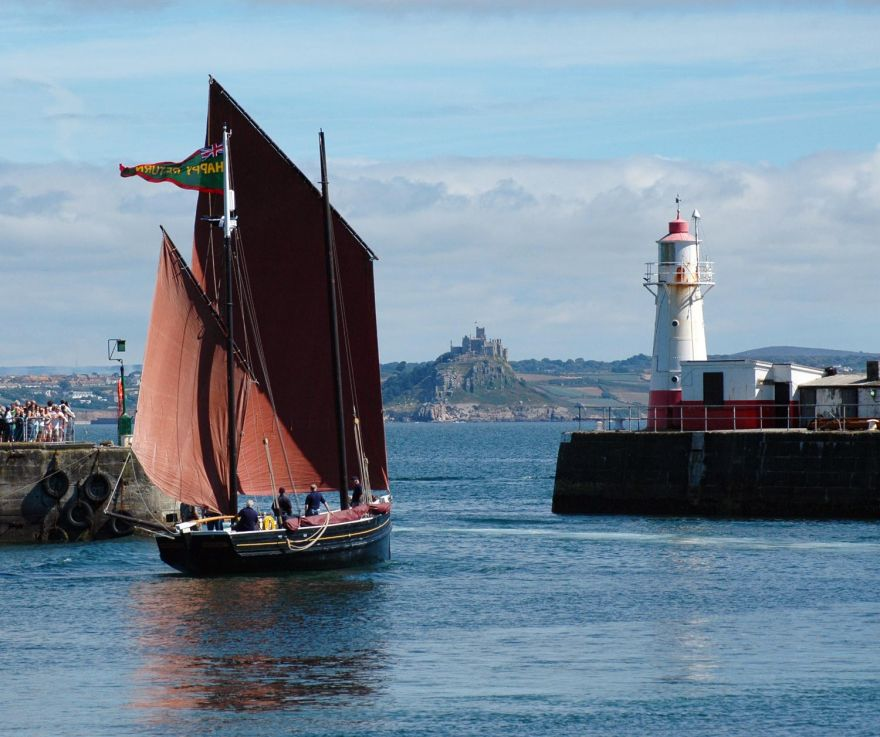 Happy Return - Newlyn Harbour