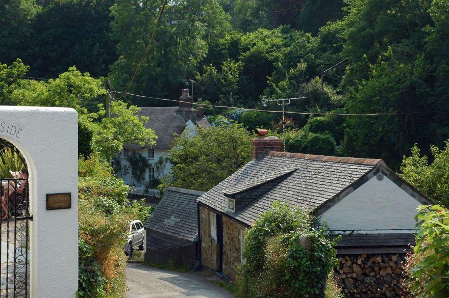Looking Down to Helford Village