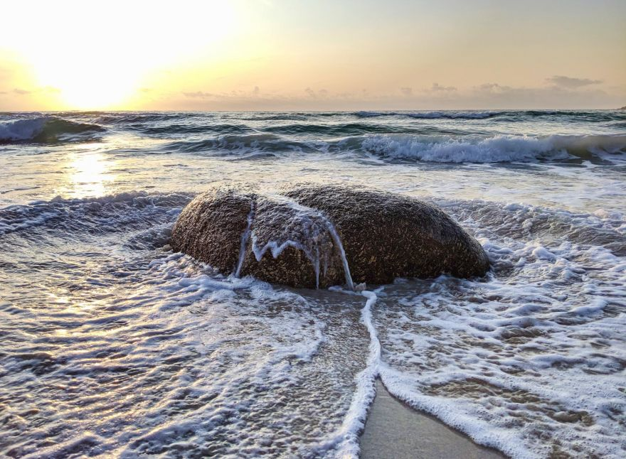 High tide sunset - Sennen Cove