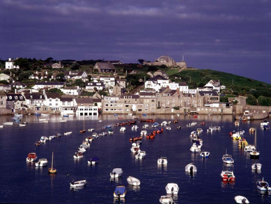 Hugh Town Harbour - Isles of Scilly