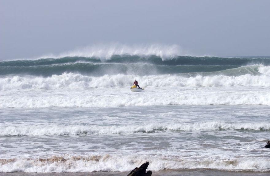 Big Wave Jet Ski Action