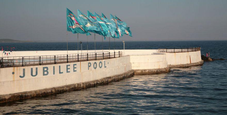 Jubilee Pool Flags - Penzance
