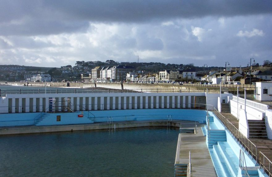 Penzance Promenade and Jubilee Pool